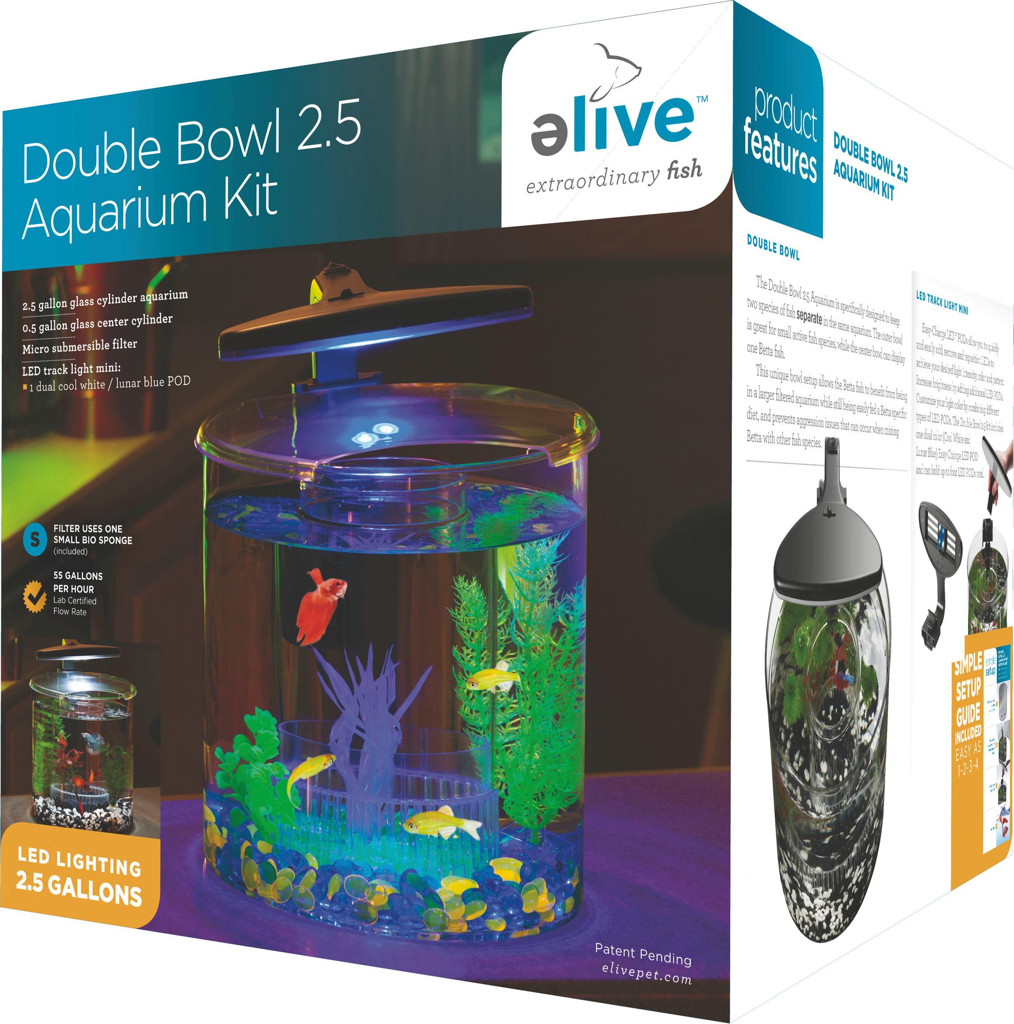 ELIVE Double Bowl Kit