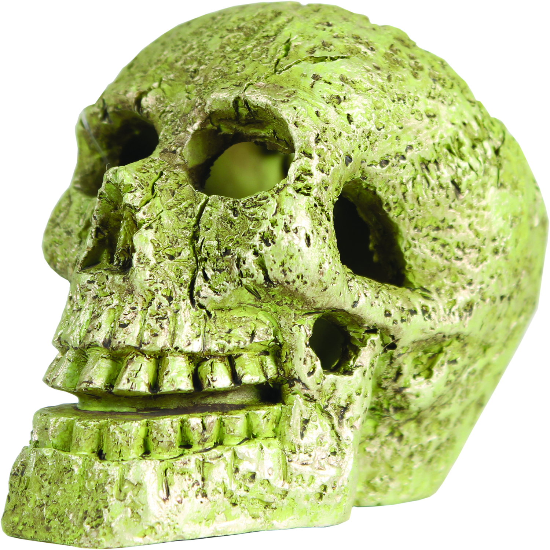TETRA Glofish Skull Aquarium Ornament