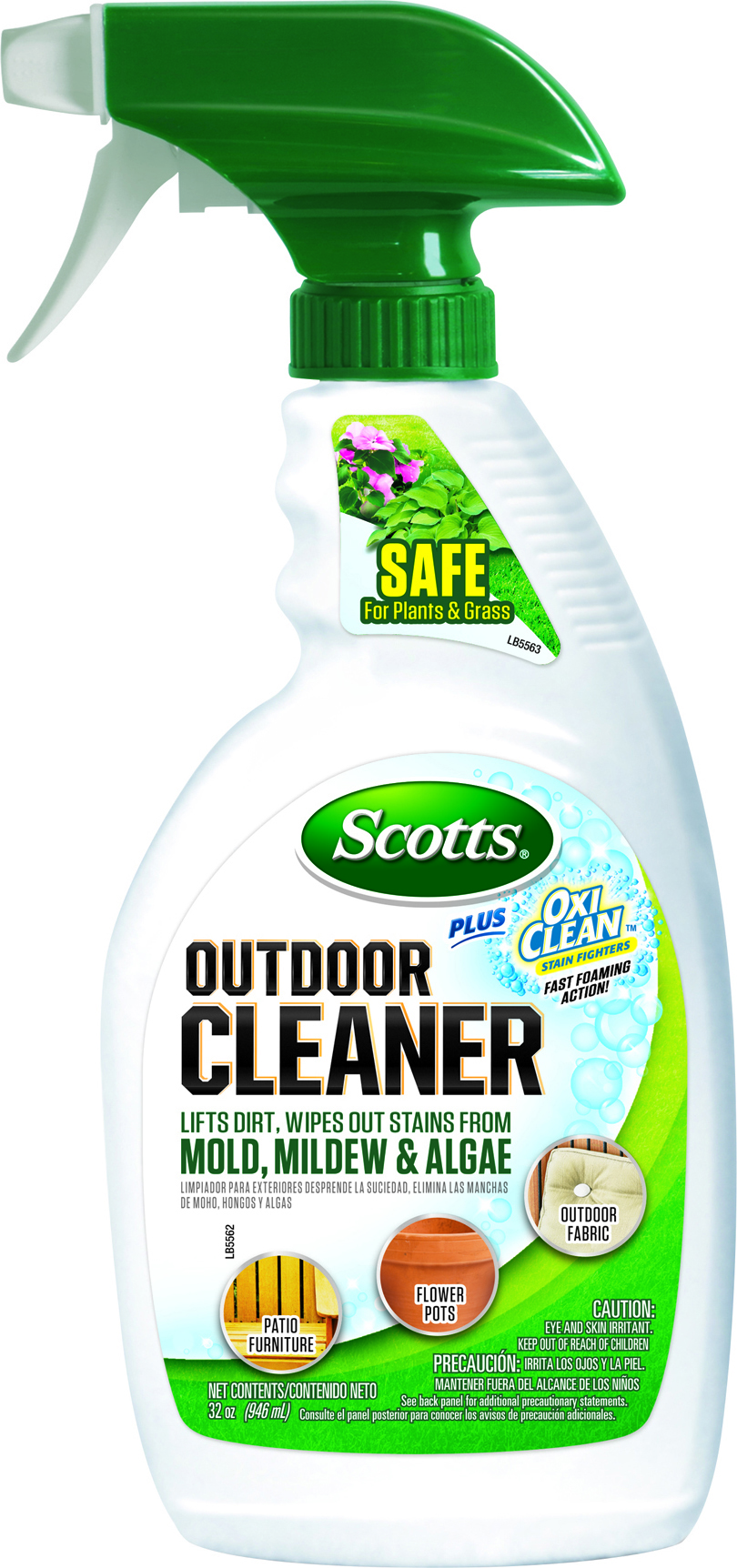 Scotts Outdoor Cleaner Plus Oxi Cleaner RTU
