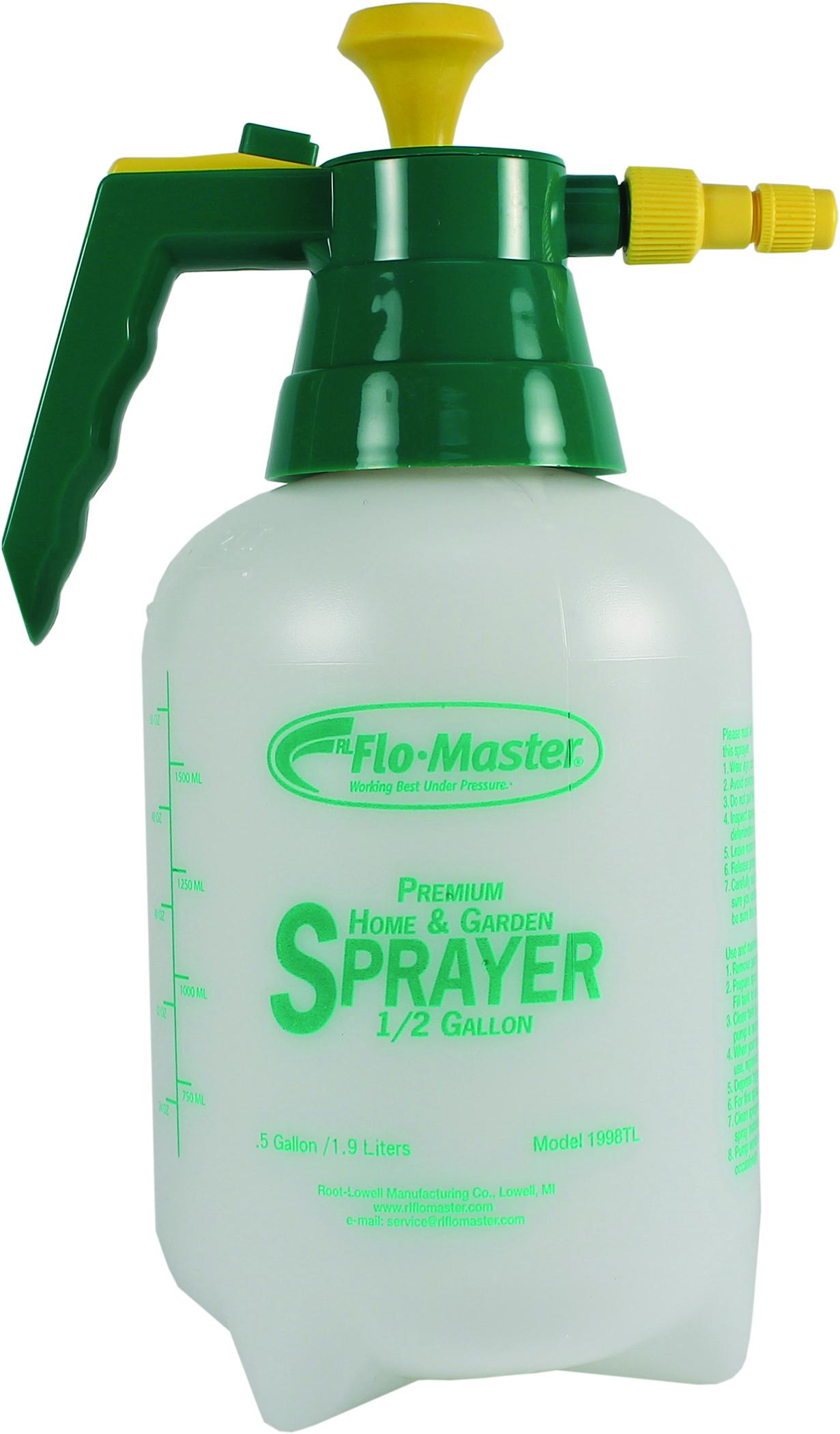 Rl Flo Master Premium Home Garden Sprayer 1 2 Gallon Ebay