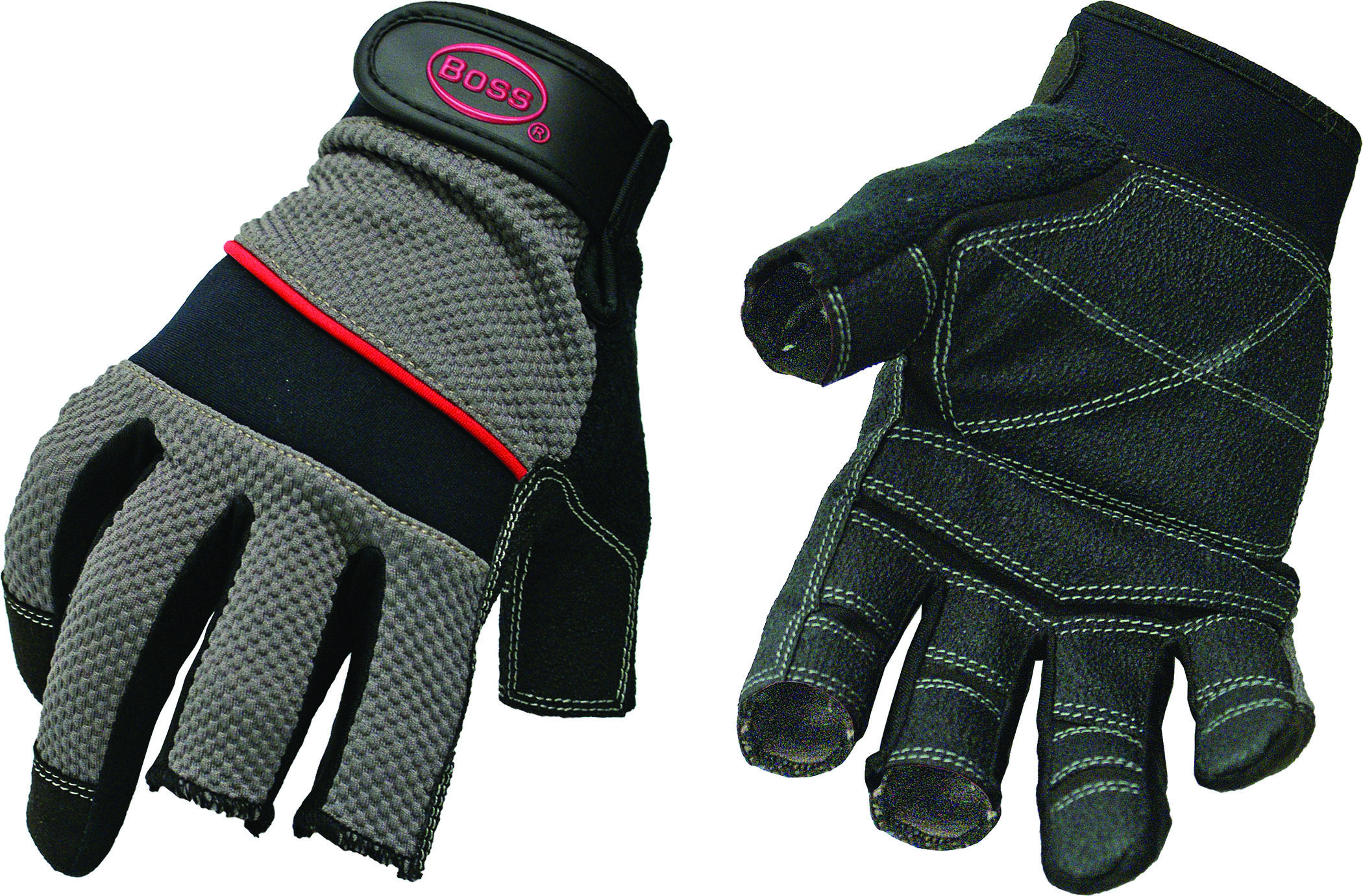 BOSS Carpenter Utility Glove Pvc Palm And Finger