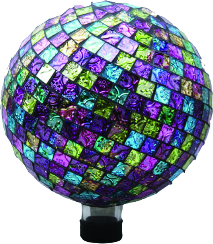 Embossed Glass Gazing Globe