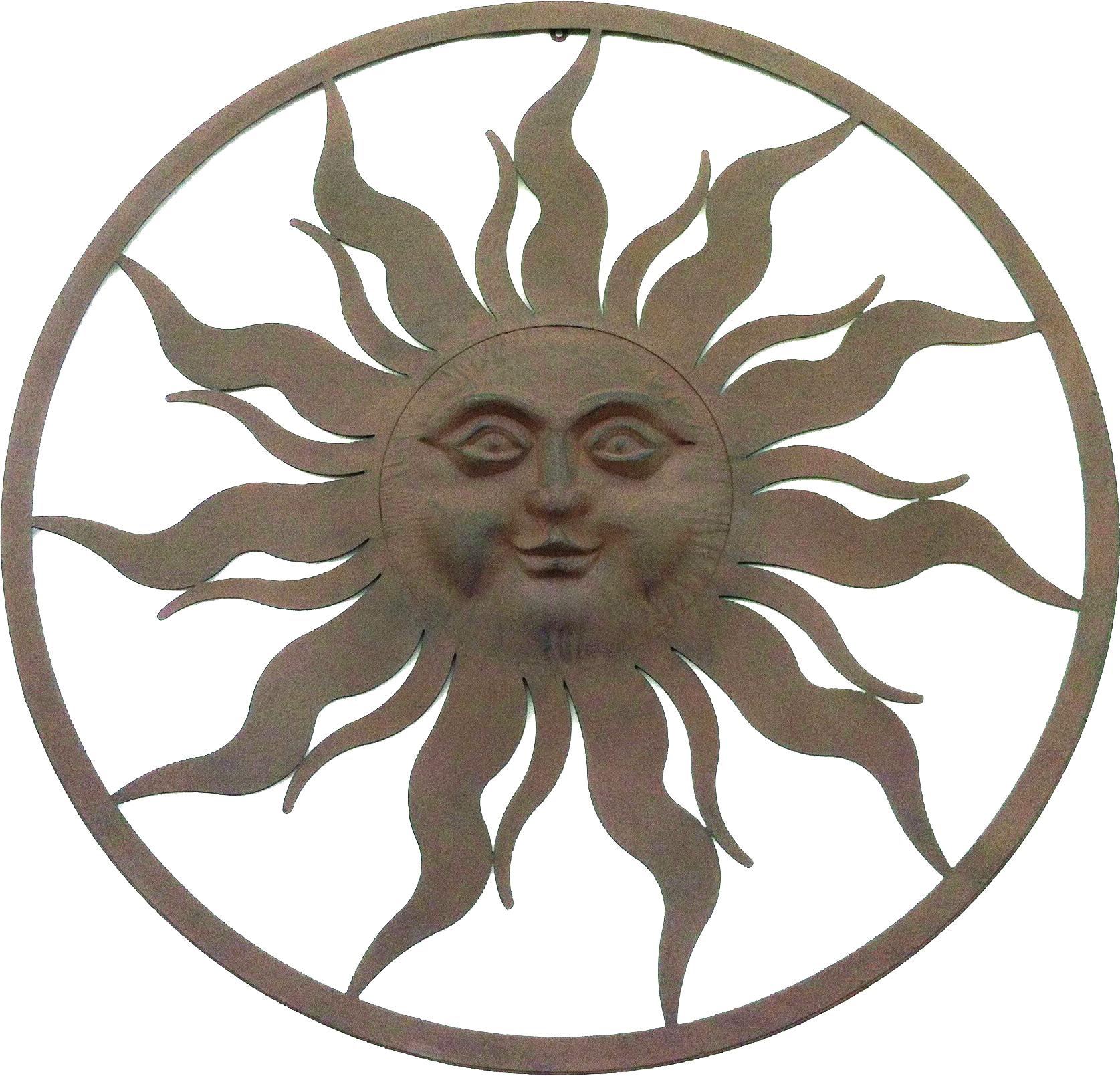 Sun With Circle Frame