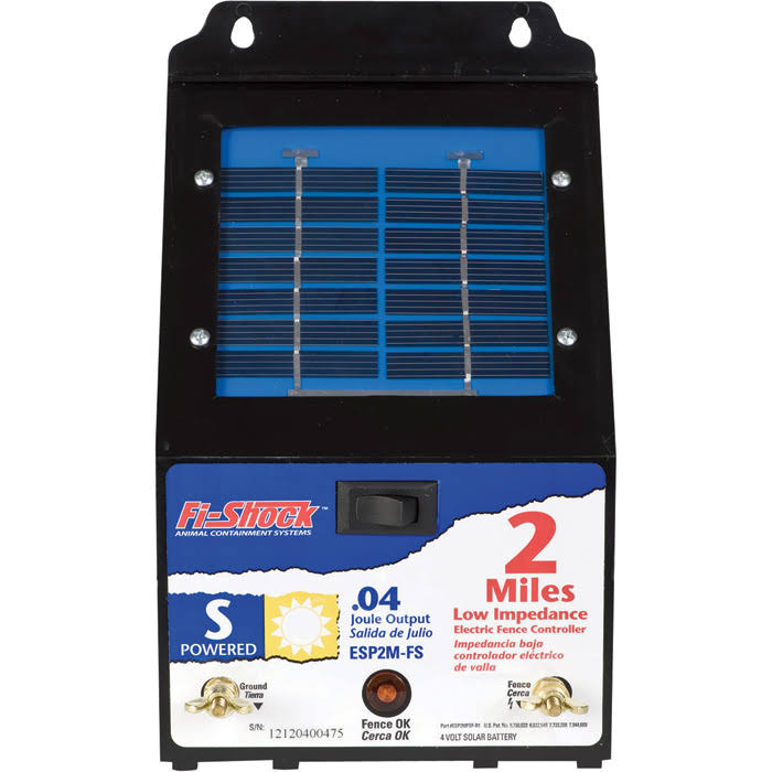 Fi-Shock Solar Fence Charger - 2 Miles