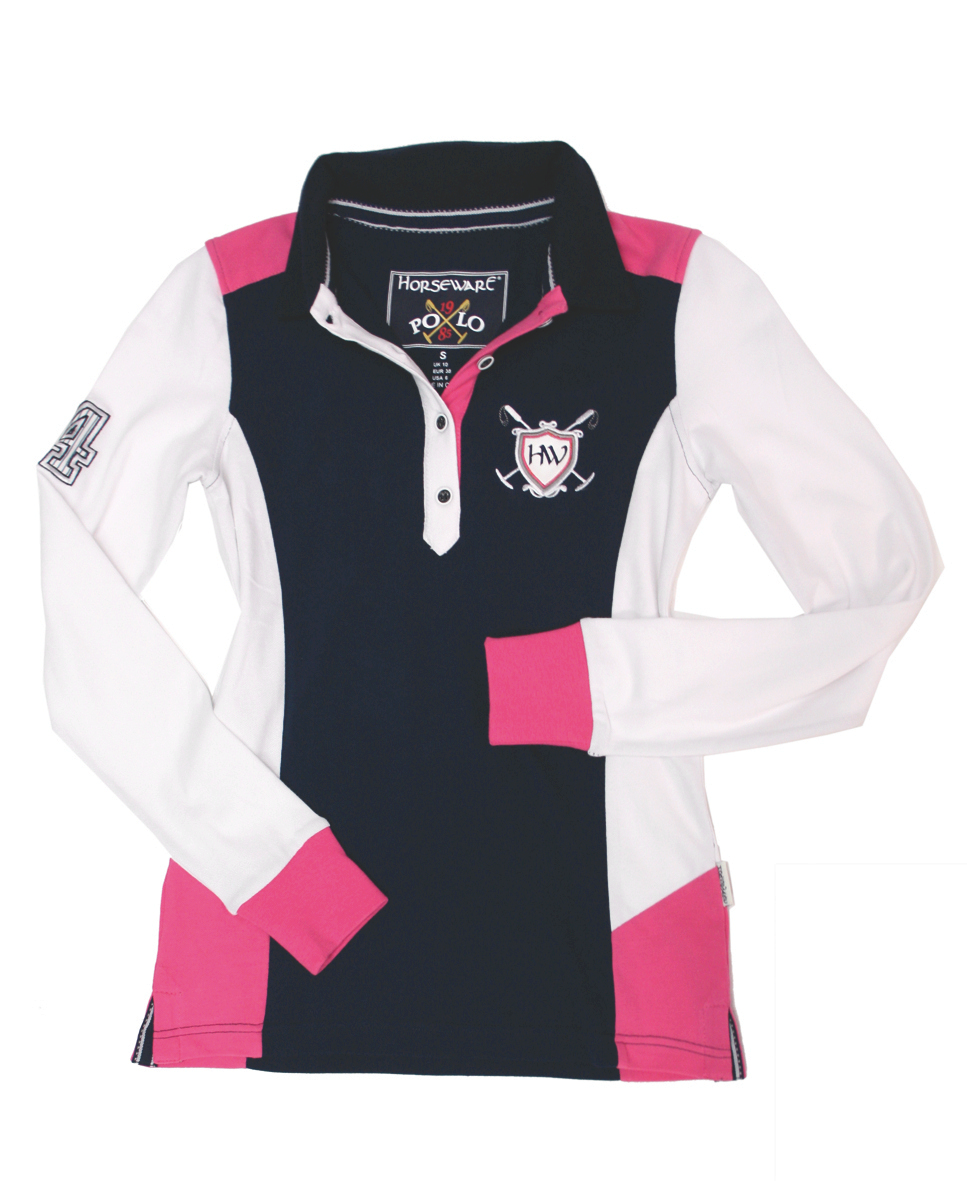 Horseware Cheri Long Sleeve Ladies Rugby