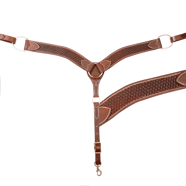 Cashel Basket Stamped 2'' Breast Collar