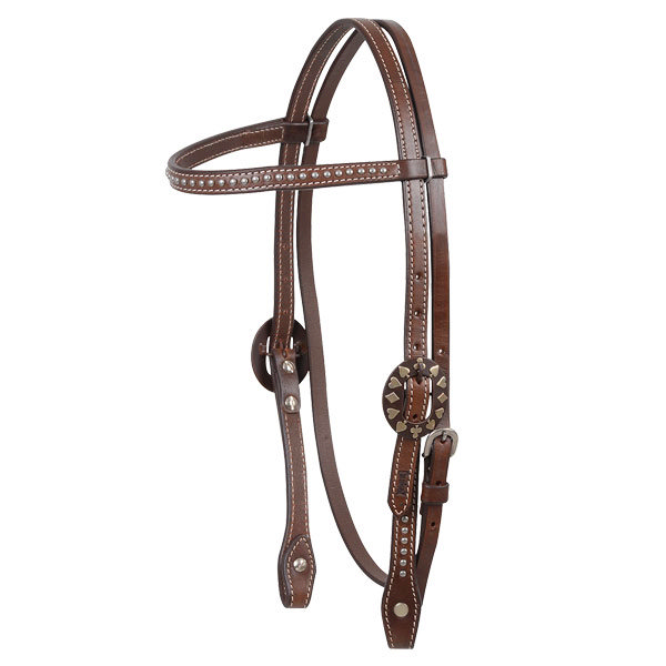 Cashel Dot Browband Headstall