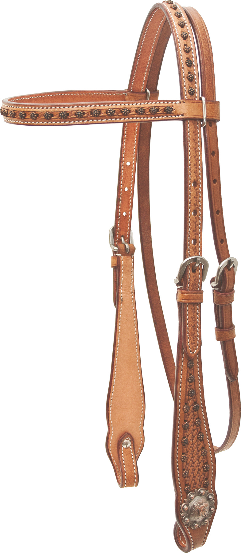 Cowboy Pro Barrel Racer Browband Headstall