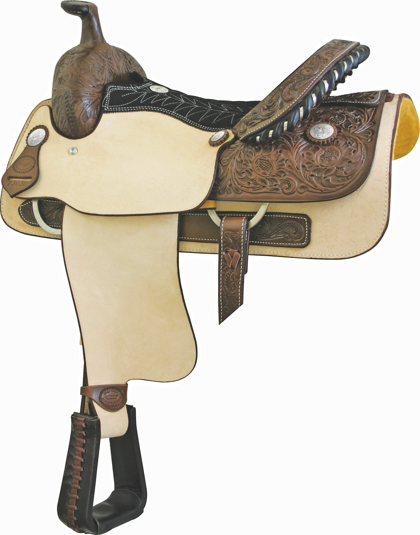 Billy Cook Justin Roper Roughout Roper Saddle