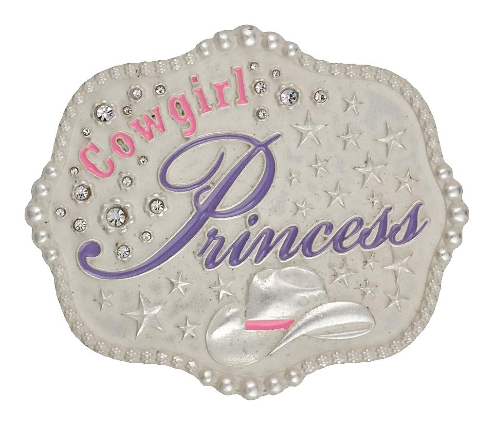 Montana Silversmiths Cowgirl Princess Kid'S Attitude Buckle