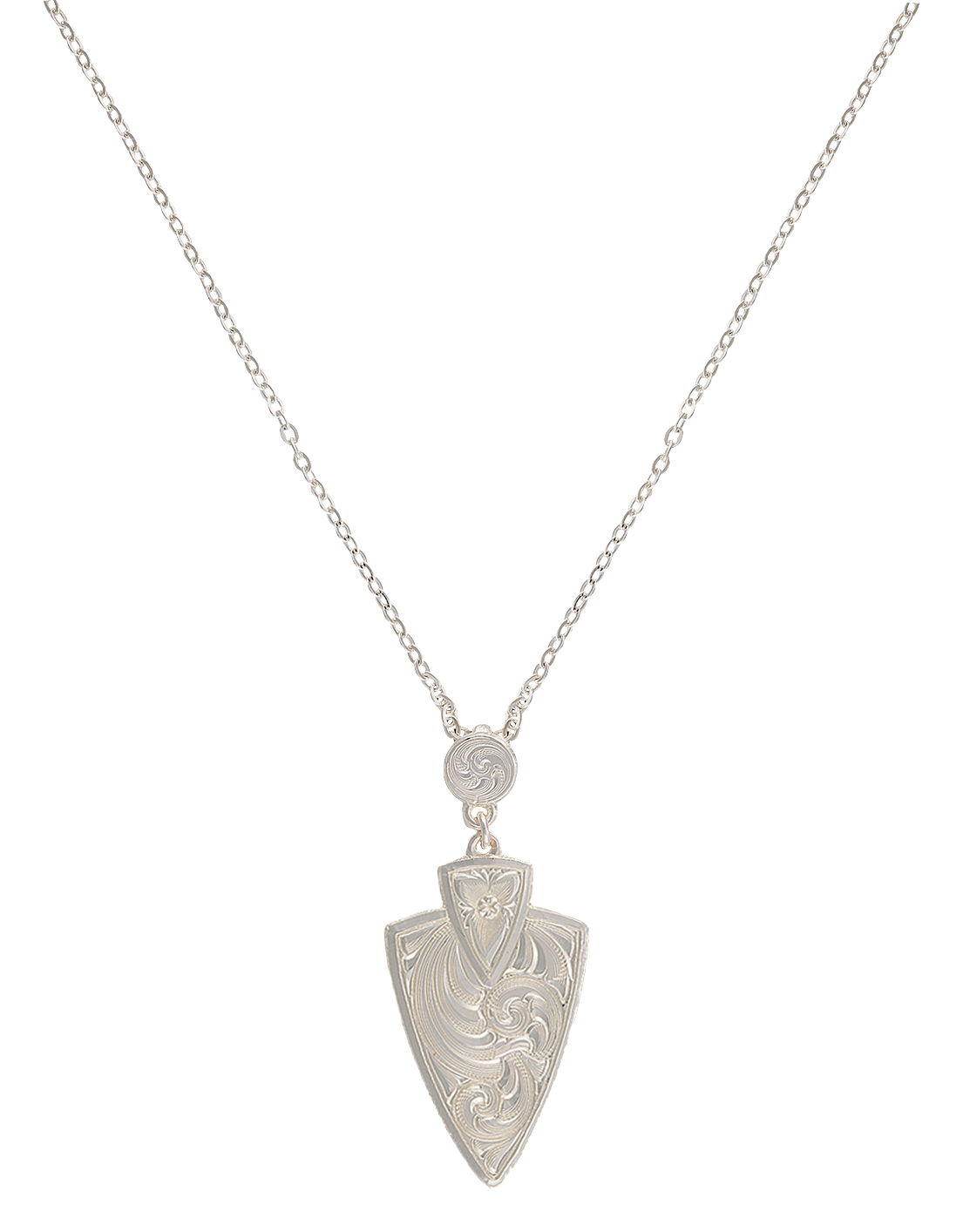 Montana Silversmiths A Keen Pursuit Arrowhead Necklace