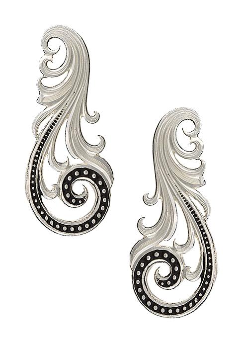 Montana Silversmiths Western Lace Whisper Earrings