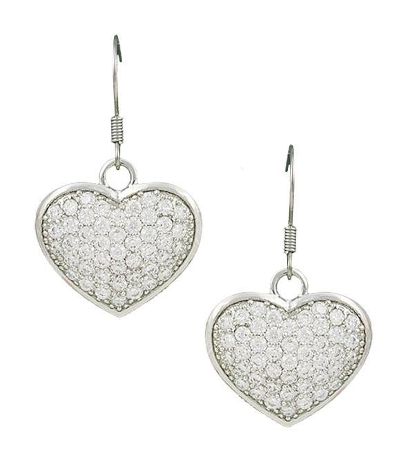 Montana Silversmiths Star Lights Heart Bright Earrings