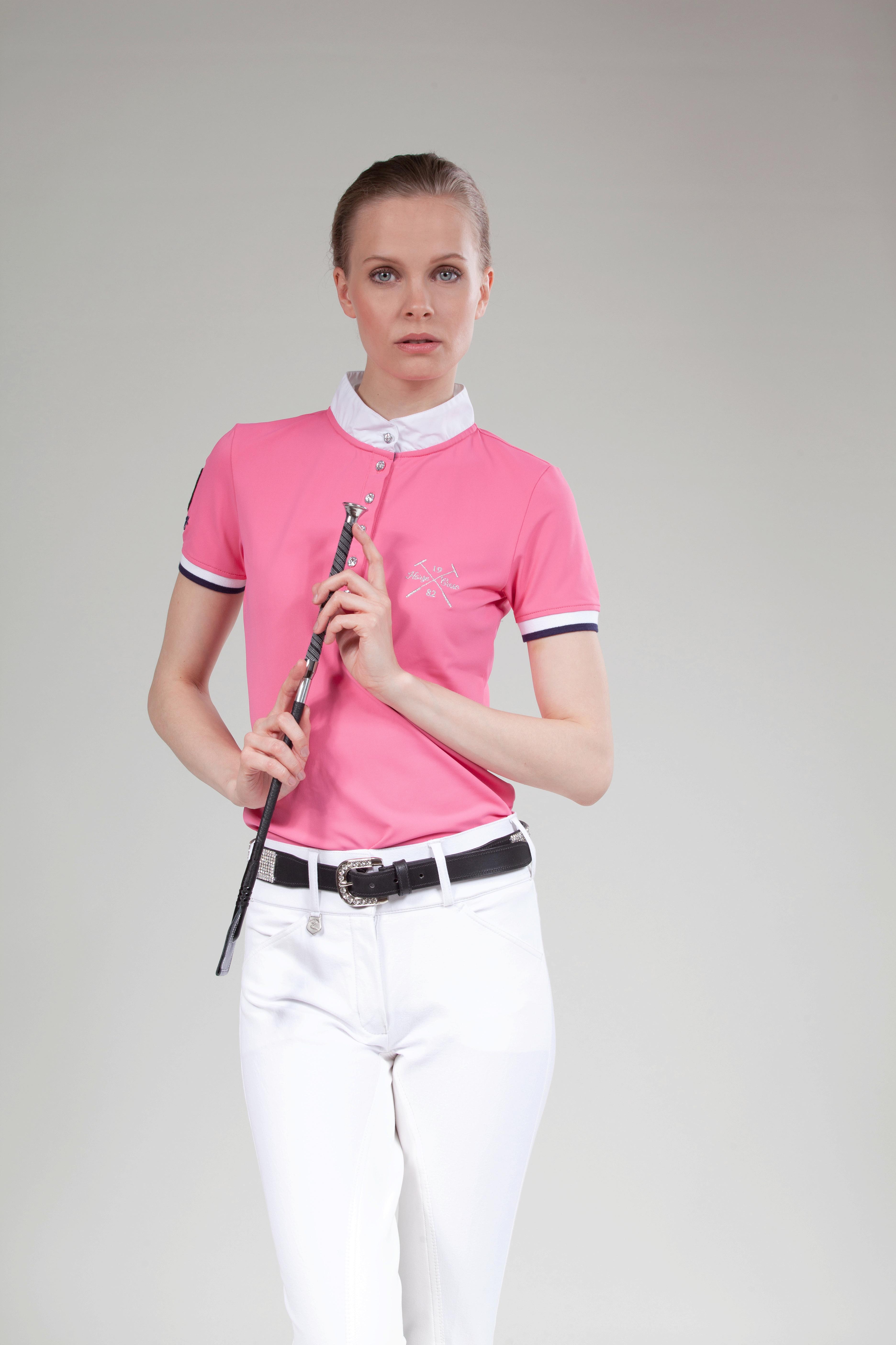 Horze Crescendo Ines Girl's Technical Polo