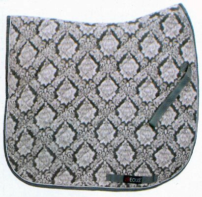 EOUS Patterned Saddle Pads