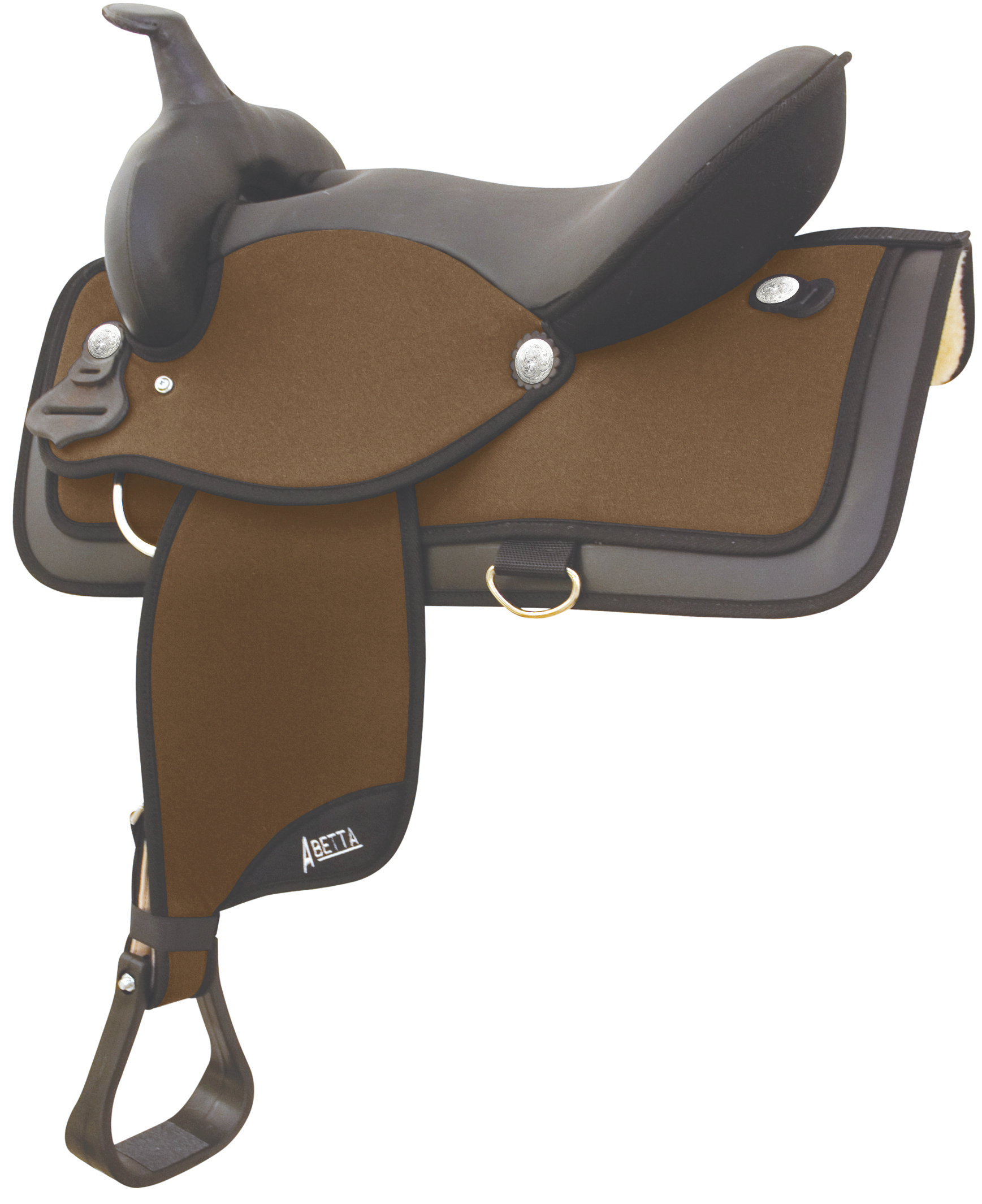 Abetta Square Super Cushion Wide Tree Saddle