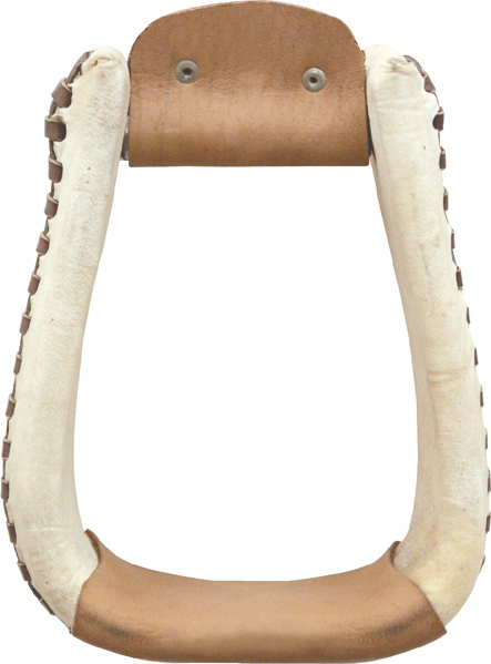 Billy Cook Rawhide Laced Roper Stirrup