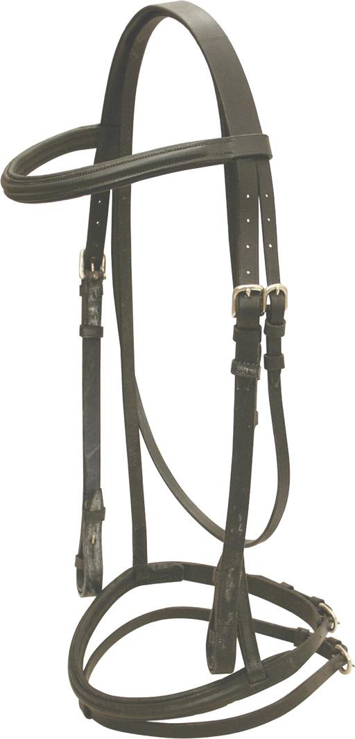 Abetta Padded Dressage Bridle