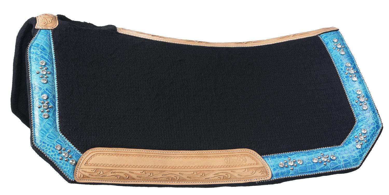 Tough-1 Trinity Wool Contoured Saddle Pad
