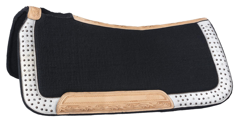 Tough-1 Arizona Wool Contoured Saddle Pad