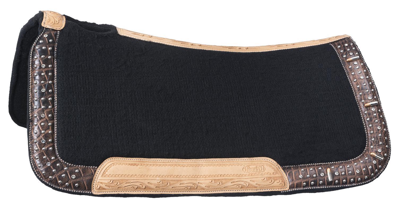 Tough-1 Remington Wool Contoured Saddle Pad
