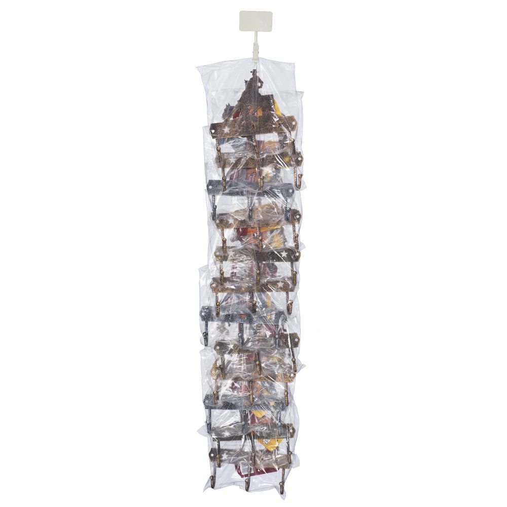 Tough-1 12 Pack 3 Hook Rack With Equine Motif