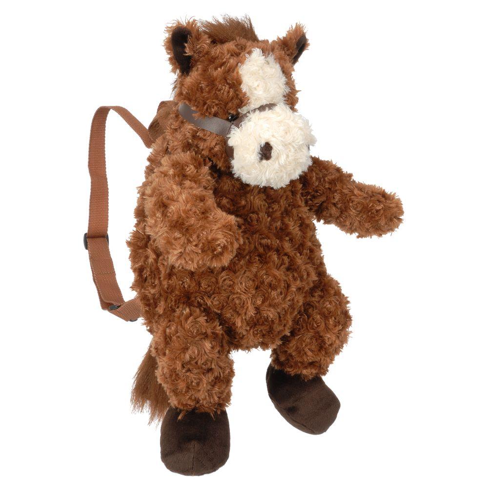 Tough-1 Soft Plush Horse Backpack