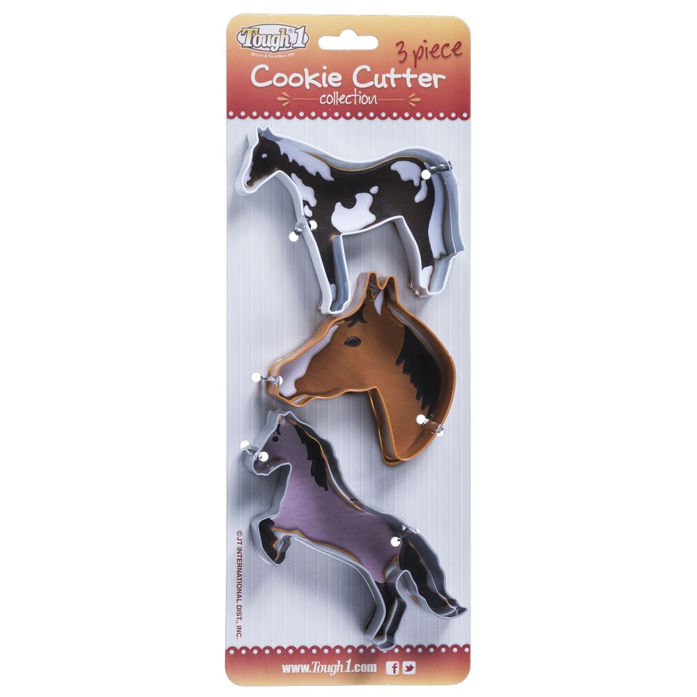 Tough-1 3 Piece Cookie Cutter Collection