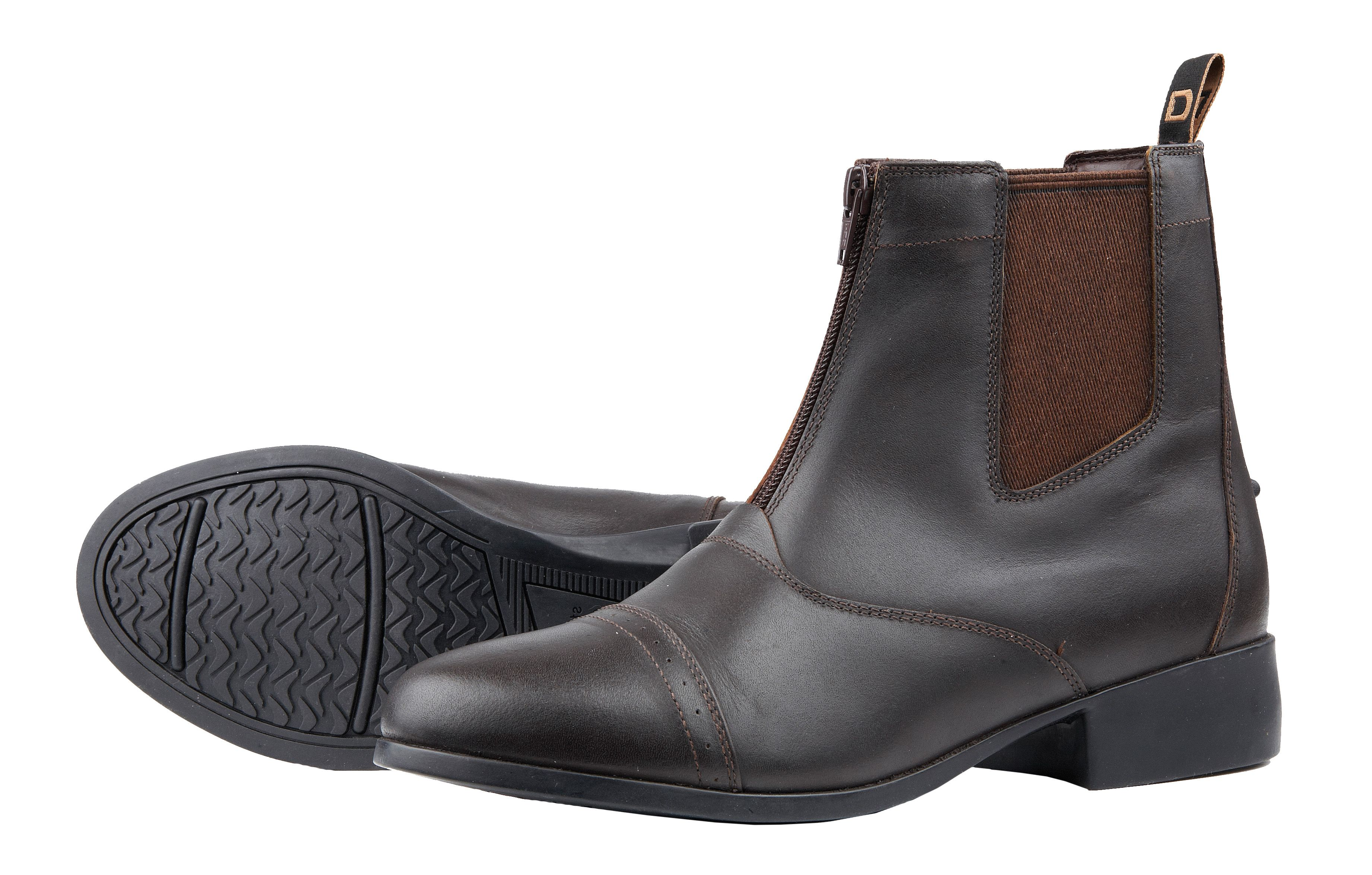 Dublin Foundation Zip Paddock Boots - Ladies