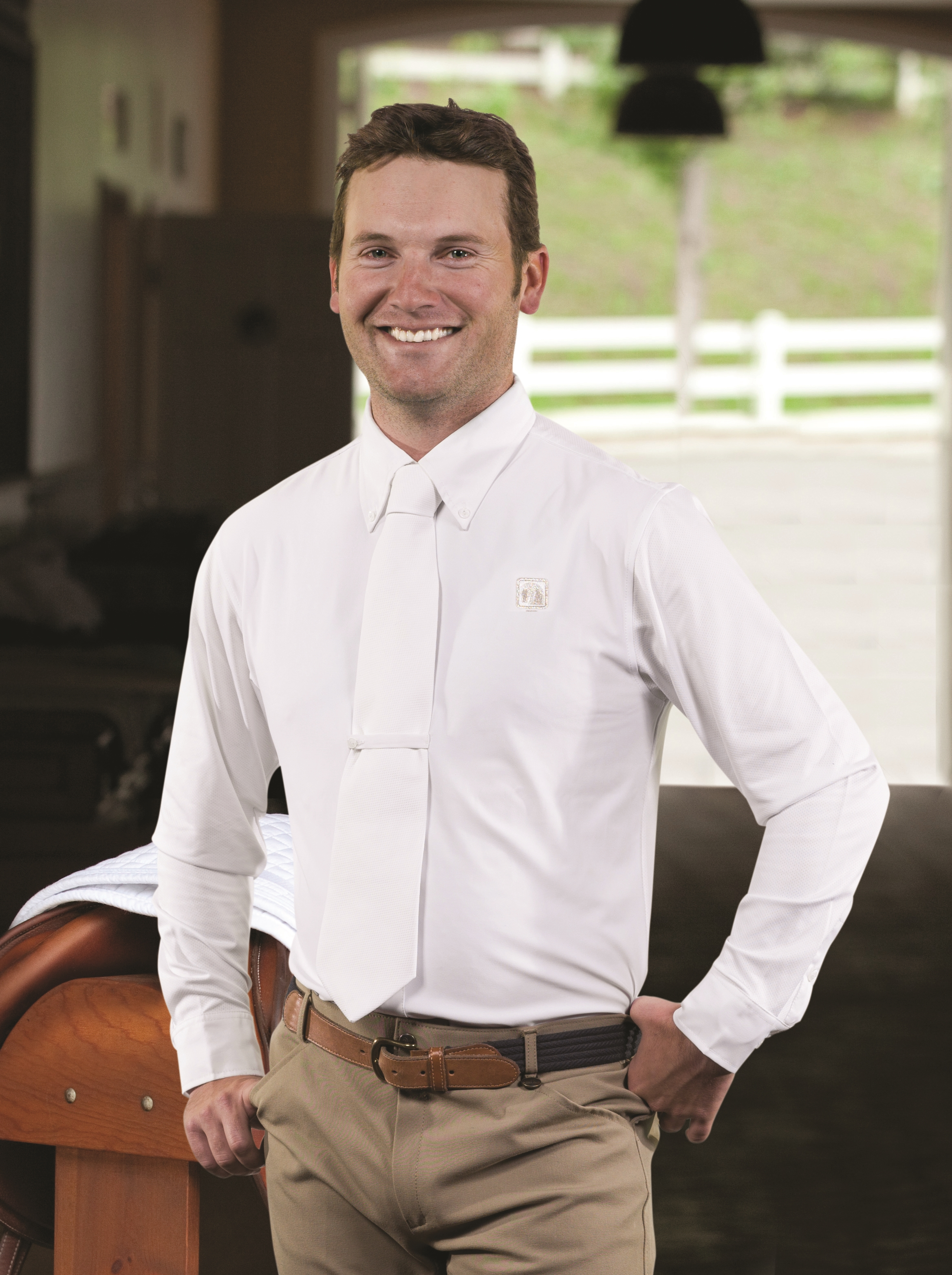 Romfh Boy Long Sleeve Competition Shirt