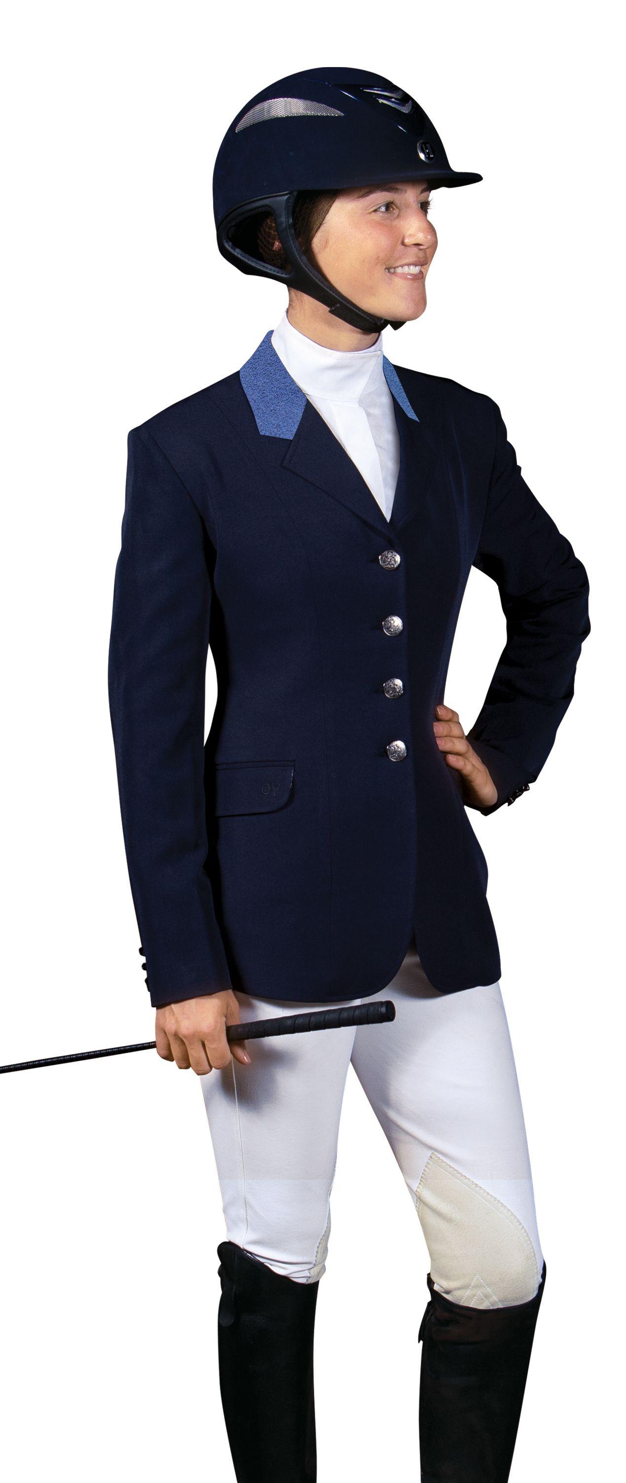 Ovation Ladies' Performance Side Vent Show Coat