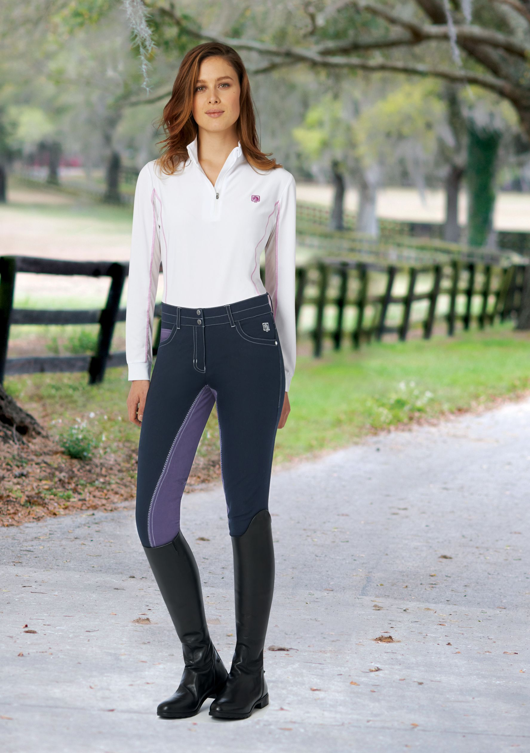 Romfh Ladies' St Tropez Full Seat Breech