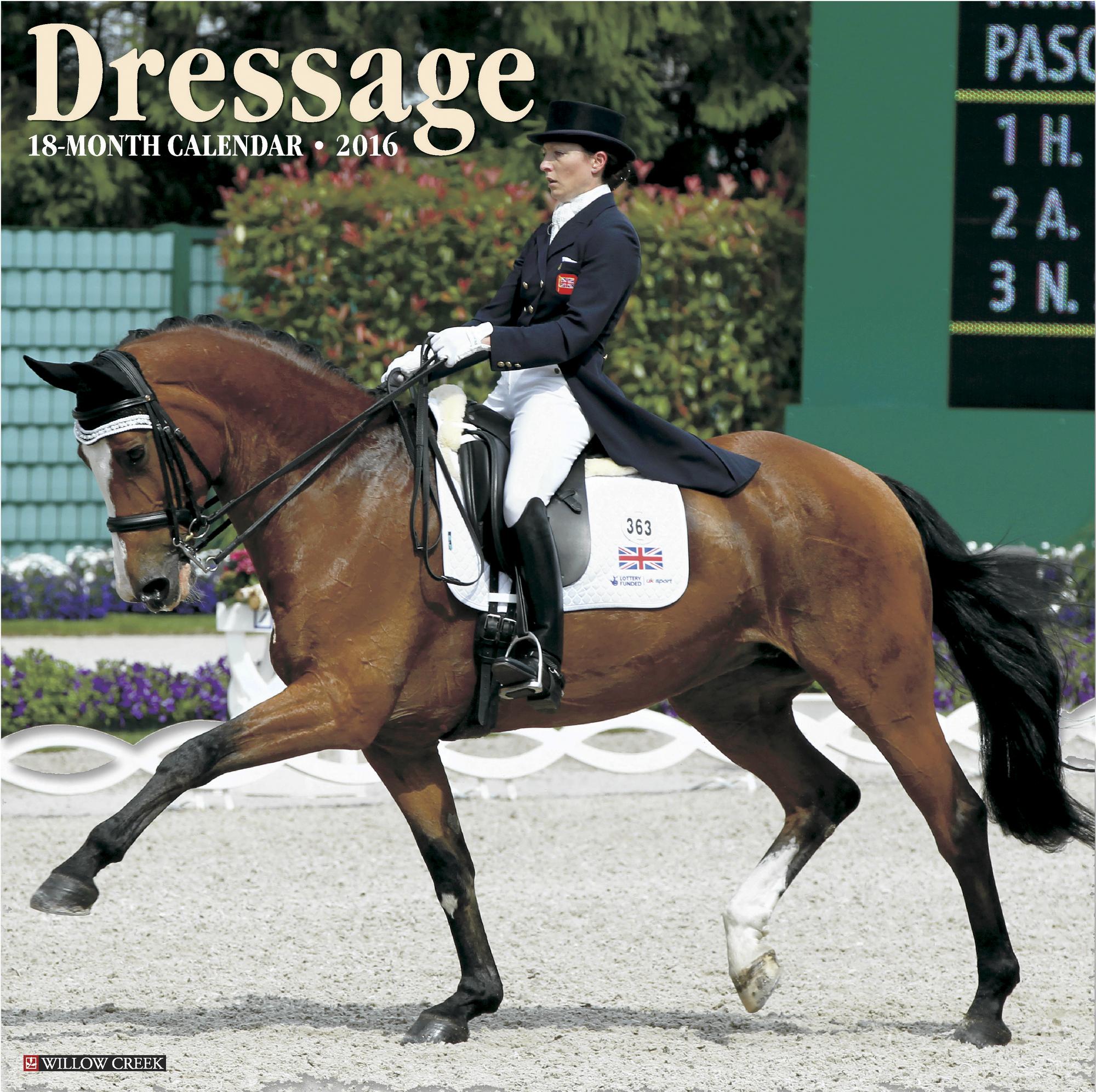 Dressage Calendar - 2016