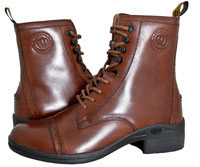 Hoof & Woof Lace Side Zip Paddock Boot