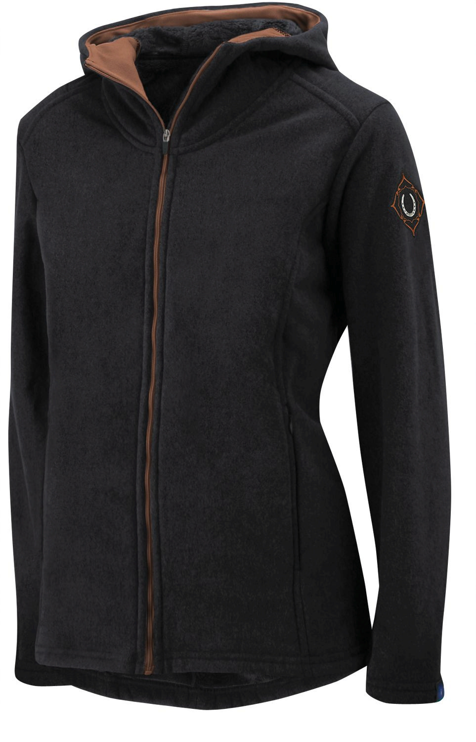 Irideon Ladies' Shetland Hooded Jacket