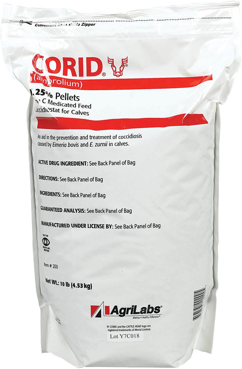 Agrilabs Corid 1.25% Pellets