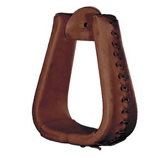 Tucker Oversize Leather Laced Stirrups