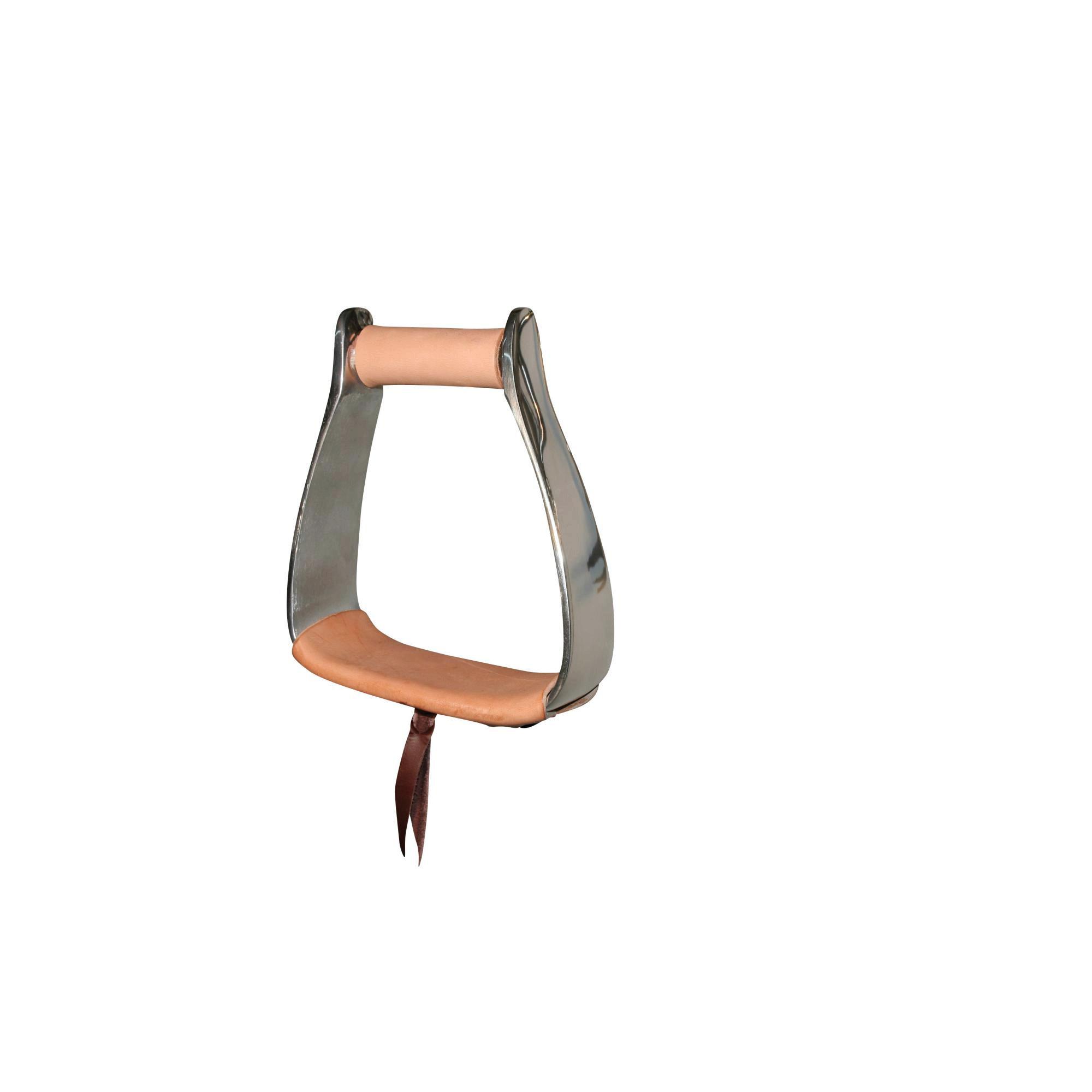 Reinsman Aluminum Slanted Roper Stirrup