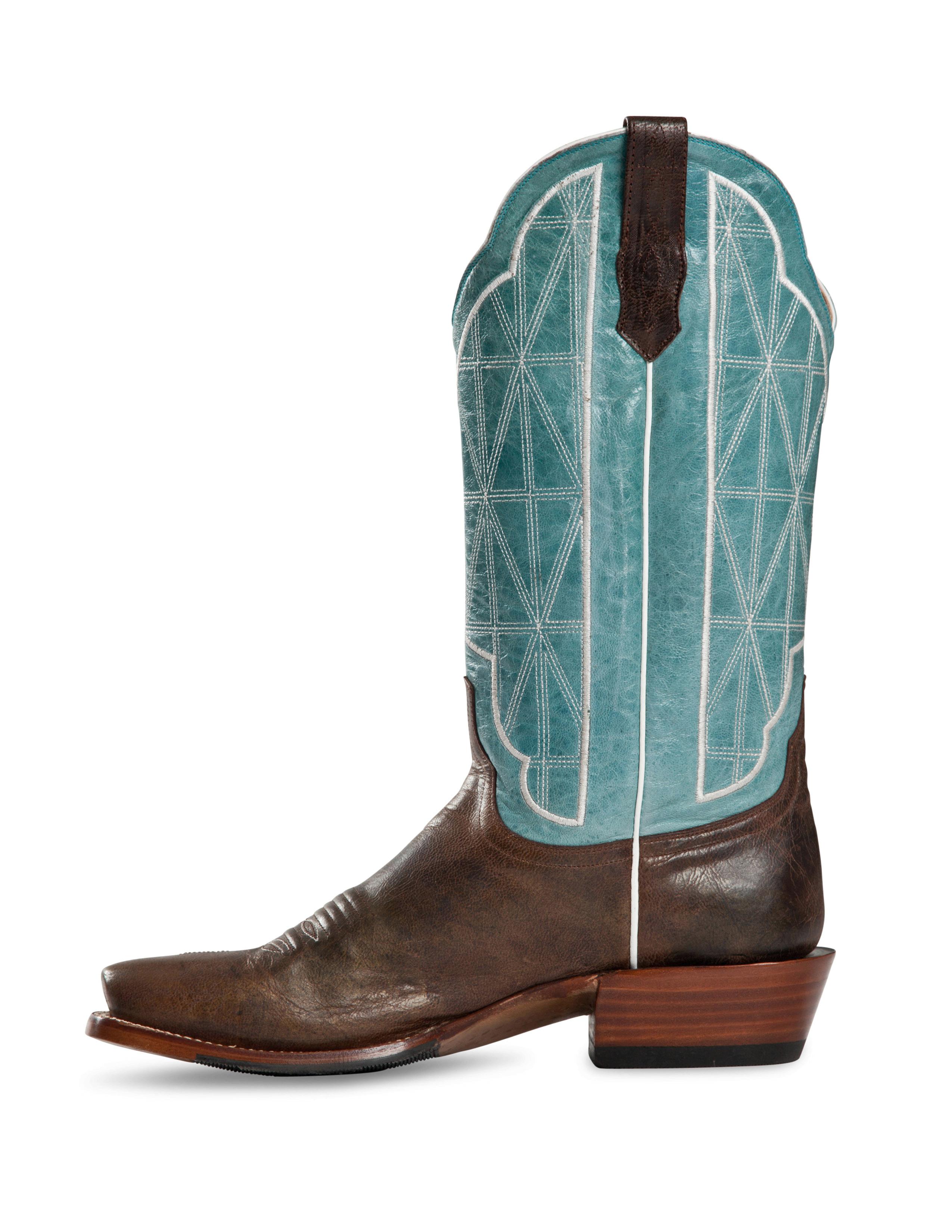 Cinch Men's Antique Mocha Goat Leather CFM123 Western Boots