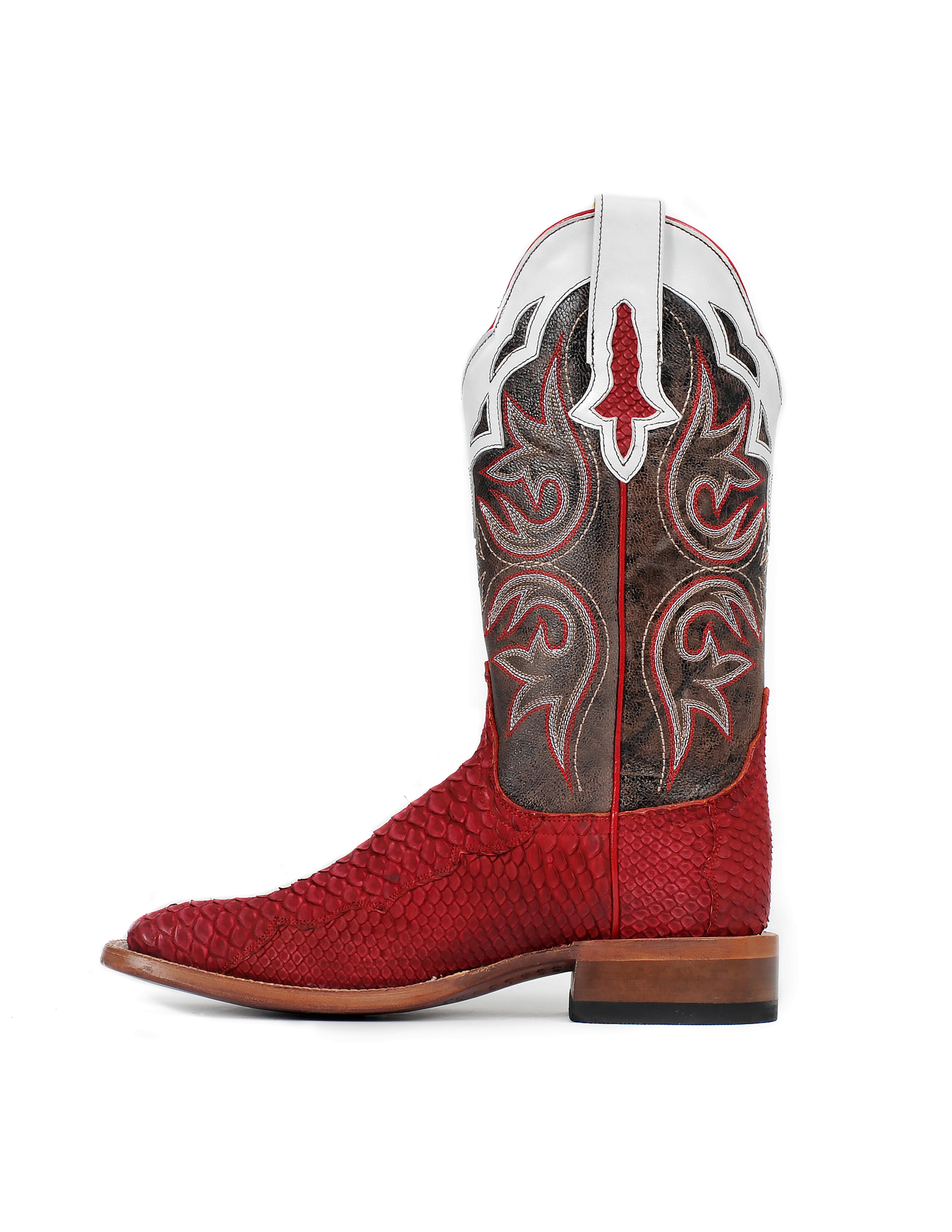 Cinch Women's Red Python CFW534 Western Boots