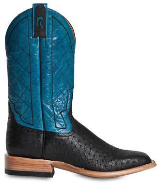 Rod Patrick Men's Black Square Toe RPM125 Western Boots
