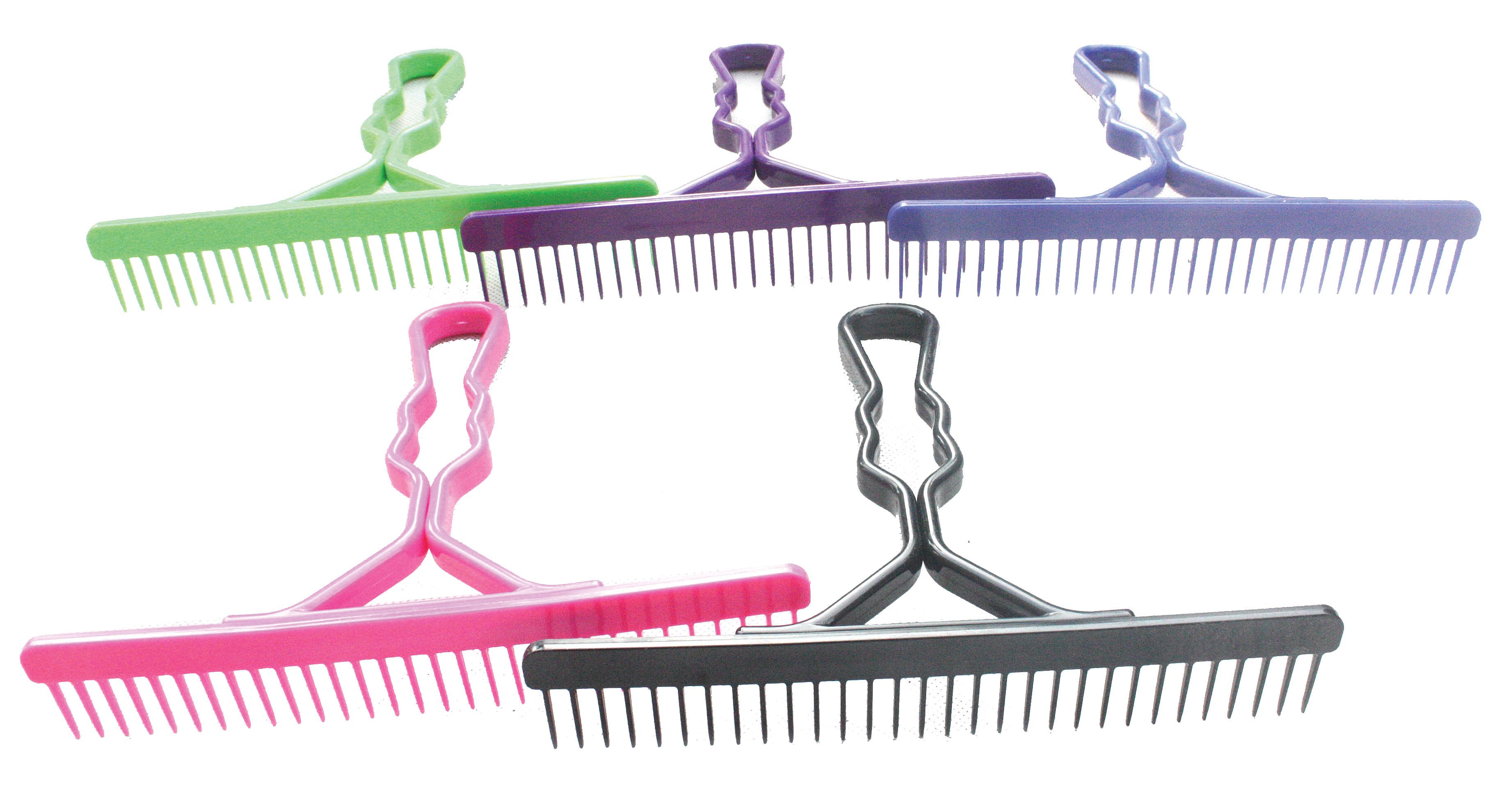 Partrade Skip Tooth Comb Plastic