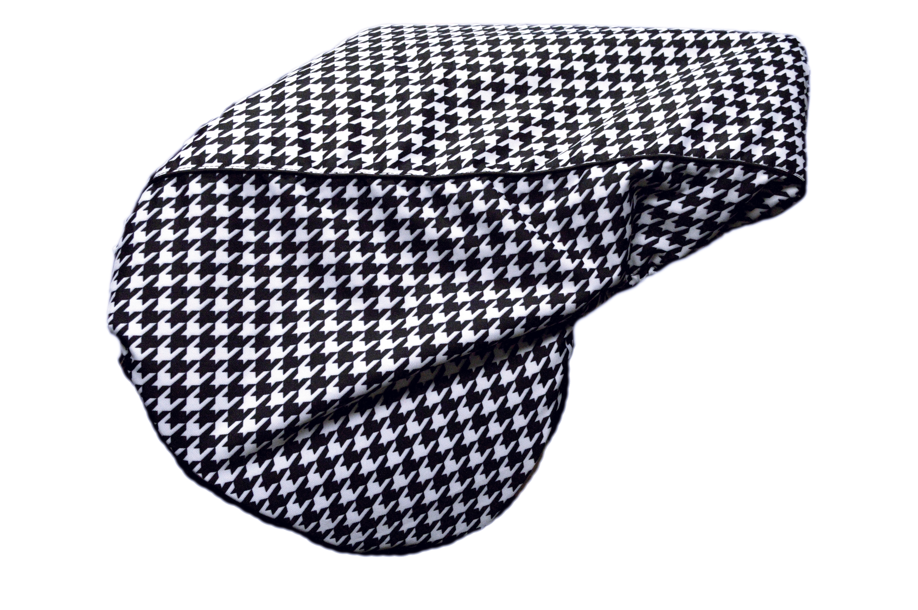 Lami-Cell Houndstooth English Saddle Cover