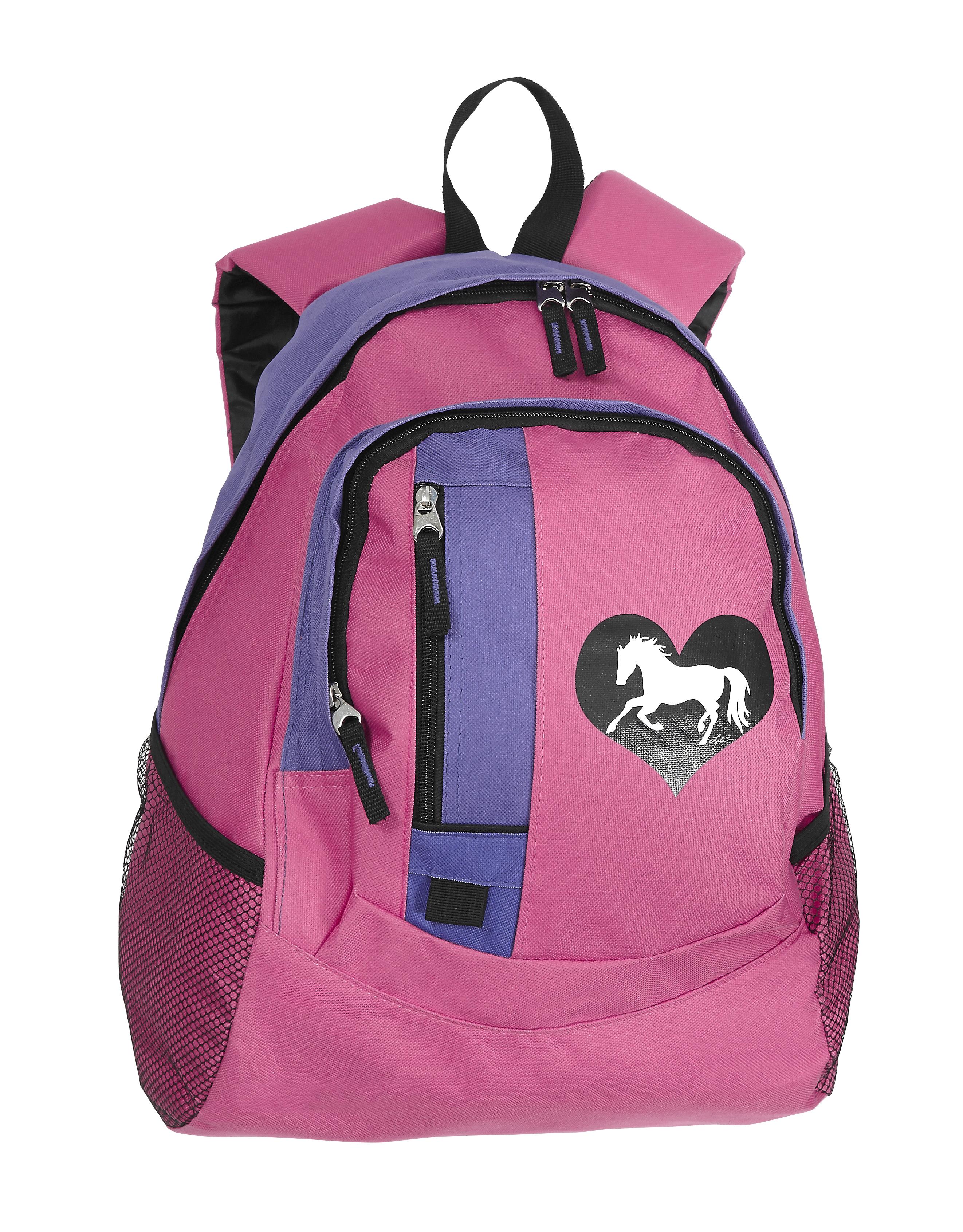 Lila Blakeslee Heart Horse Back Pack
