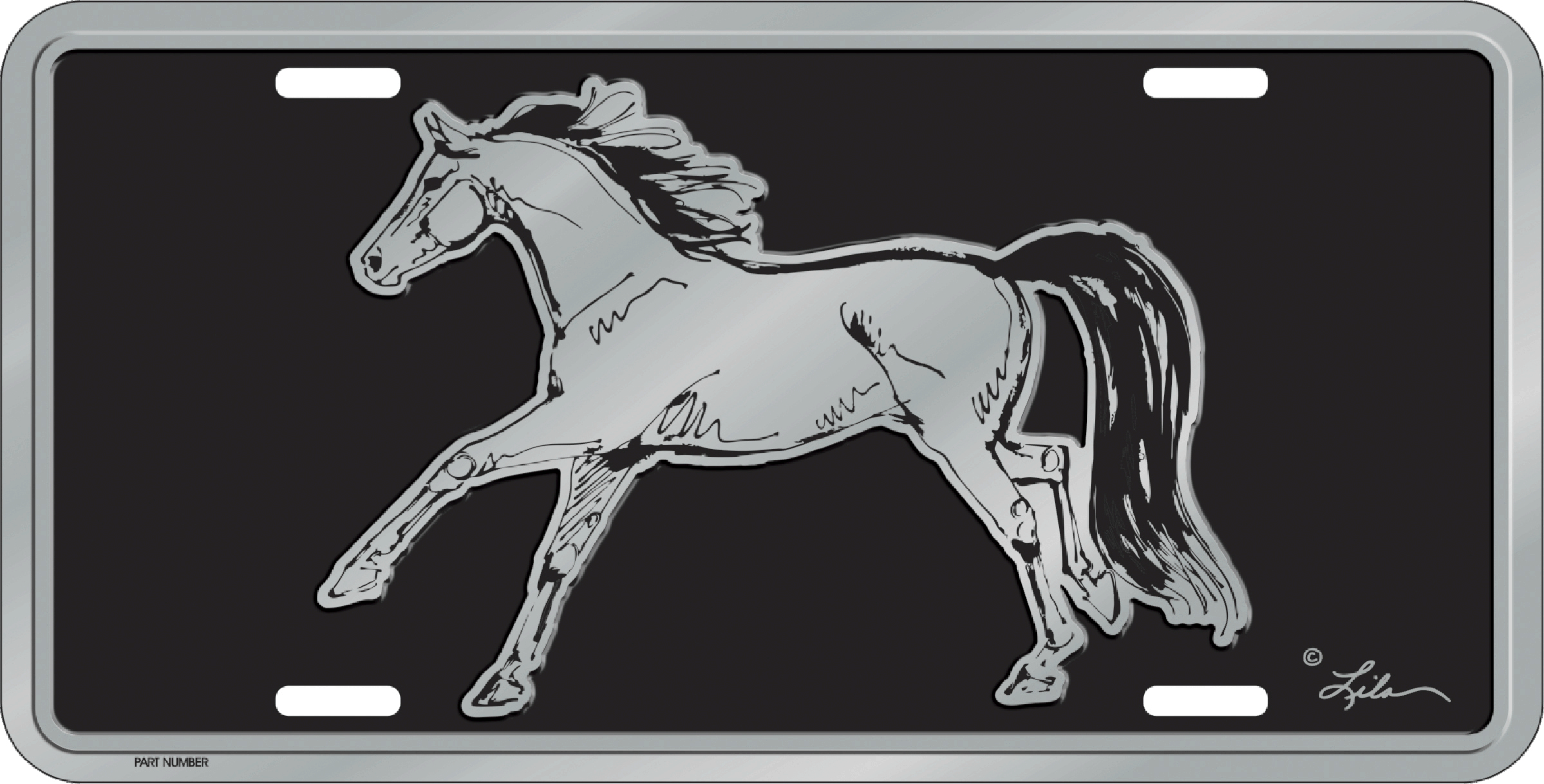 Lila Blakeslee Gallop License Plate