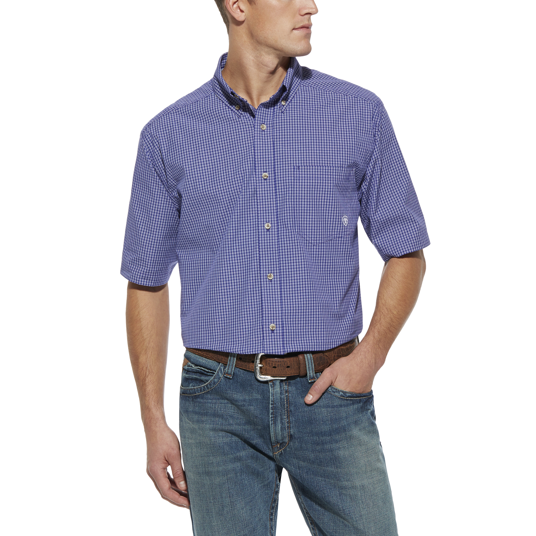 Ariat Tad Performance Short Sleeve Shirt