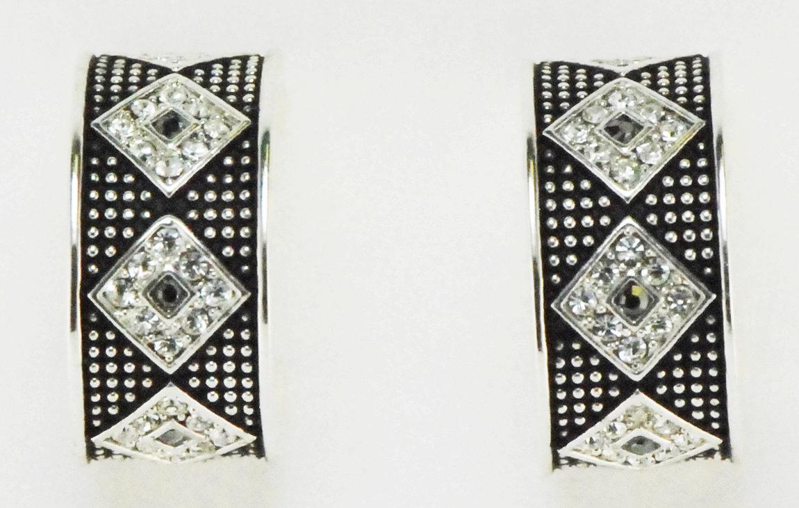 Western Edge Jewelry Diamond Stone Earrings