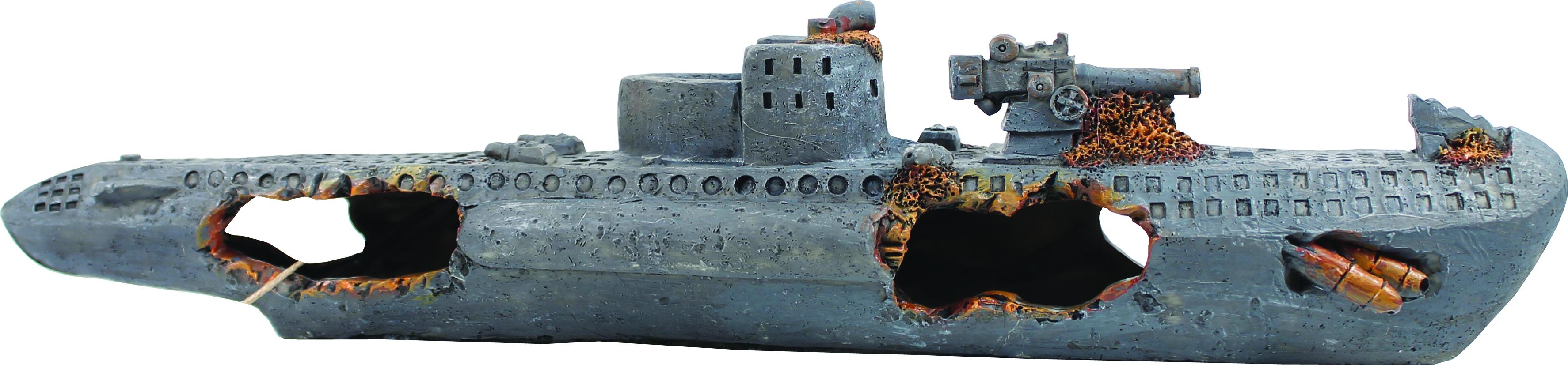 Bio Bubble Sunken U-Boat Ornament