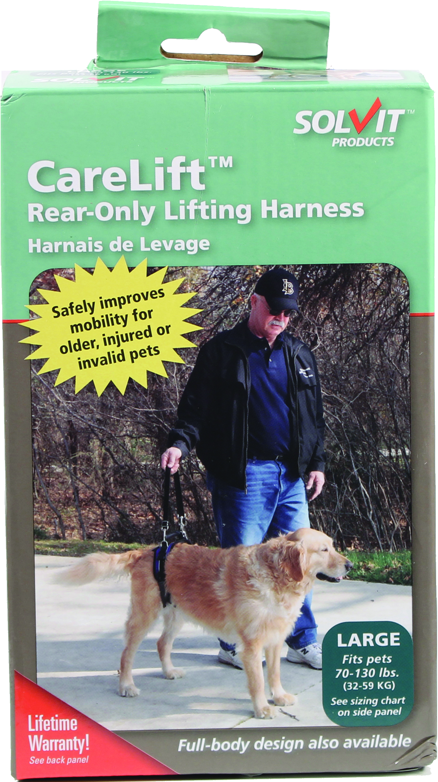 Solvit Carelift Rear-Only Lifting Harness For Dogs