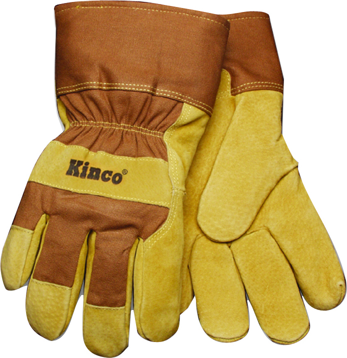 Kinco Lined Suede Pigskin Glove